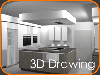 3D Kitchen Diagram